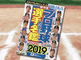 「プロ野球選手カラー名鑑2019」