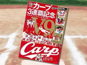 「カープ 3連覇記念 マルチジップバッグBOOK」