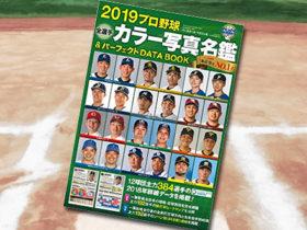 「2019プロ野球全選手カラー写真名鑑&パーフェクト DATA BOOK」