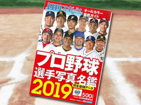 「2019プロ野球選手写真名鑑」